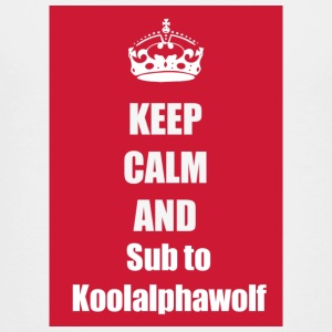 Subsribe to koolalphawolf - Kids' Premium T-Shirt