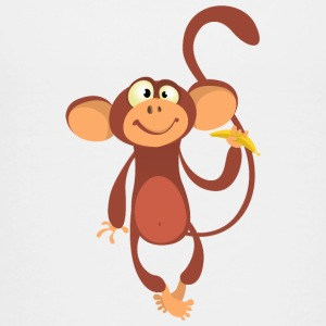 monkey-animal-cartoon - Kids' Premium T-Shirt