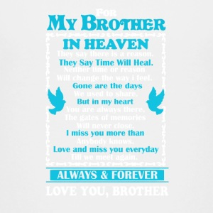 Brother In Heaven Shirt - Kids' Premium T-Shirt