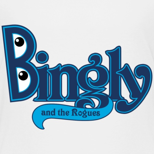 Bingly and The Rogues logo - Kids' Premium T-Shirt