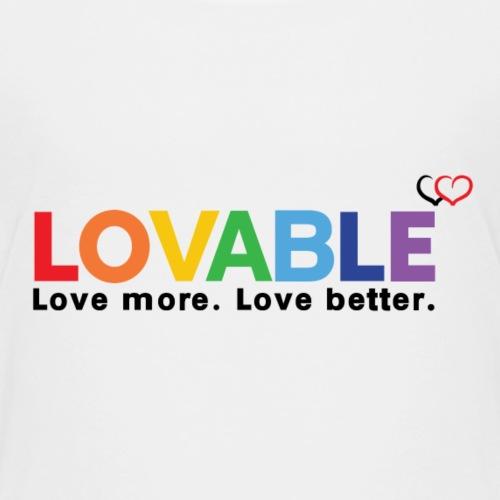 Loveable - Kids' Premium T-Shirt