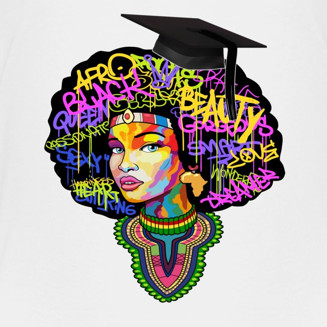 Graduation Melanin Queen Shirt Gift