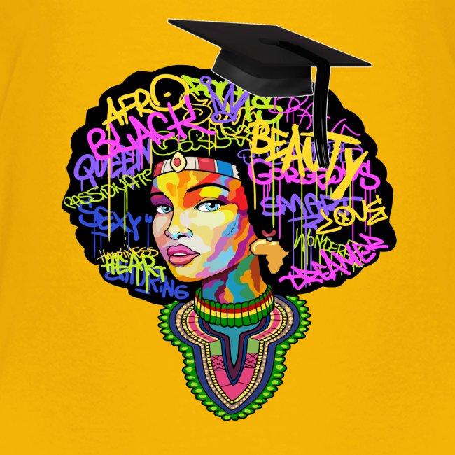 Graduation Melanin Queen Shirt Gift