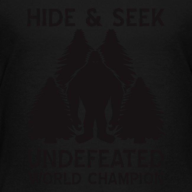 Hide and Seek Champ!