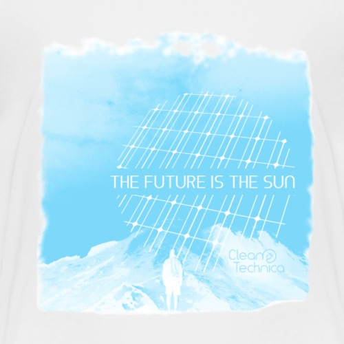 The Future is the Sun in Blue - Kids' Premium T-Shirt