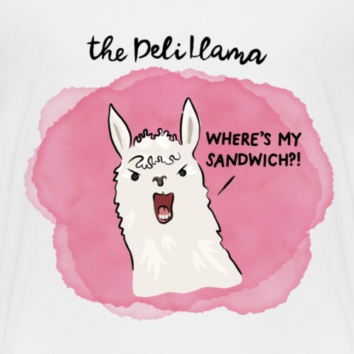The Deli Llama - Kids' Premium T-Shirt