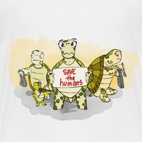 SAVE THE HUMANS! - Kids' Premium T-Shirt