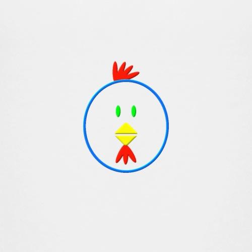 Coloured chicken - Kids' Premium T-Shirt