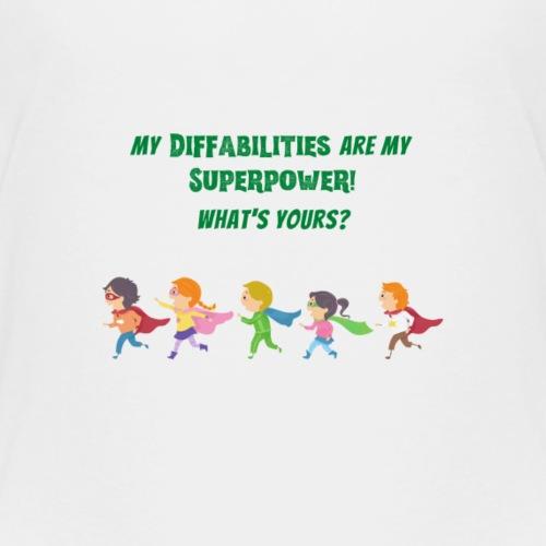 Super Diffabilities - Kids' Premium T-Shirt