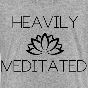 Heavily Meditated Yoga Yogi Design - Kids' Premium T-Shirt