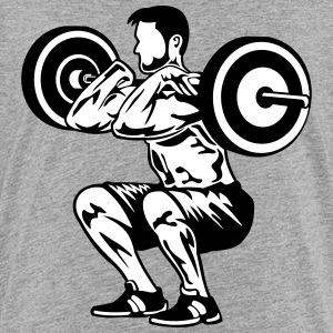 weight lifting - Kids' Premium T-Shirt