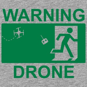 Exit Warning Drone - Kids' Premium T-Shirt
