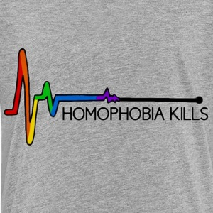 Homophobia Kills - Kids' Premium T-Shirt