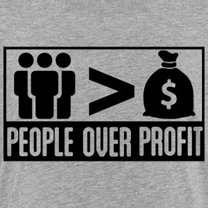 People Over Profit - Kids' Premium T-Shirt