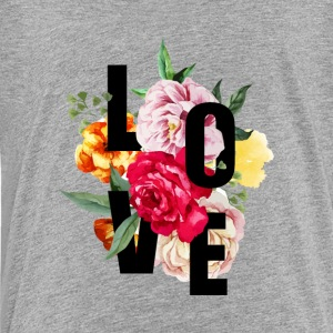 Love (Flowers) - Kids' Premium T-Shirt