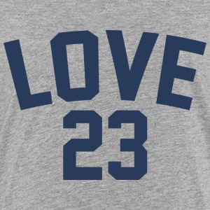Love - Jersey Design (Navy Blue Letters) - Kids' Premium T-Shirt
