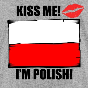 Kiss Me I'm Polish - Kids' Premium T-Shirt