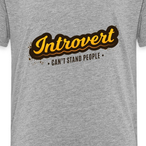 Introvert - Kids' Premium T-Shirt