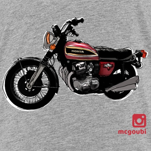 CB 750 boutique perso - Kids' Premium T-Shirt