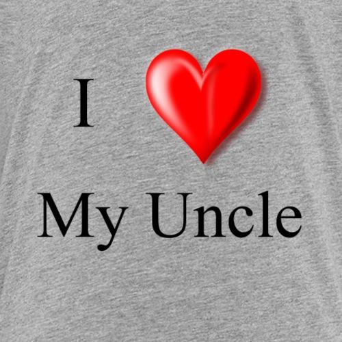 I love my uncle - Kids' Premium T-Shirt