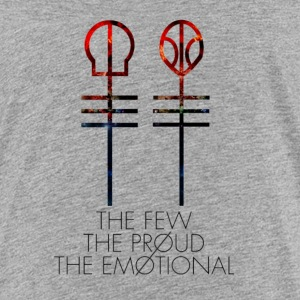 The Few - The Proud - The Emotional - Kids' Premium T-Shirt