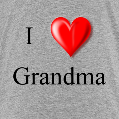 I love Grandma - Kids' Premium T-Shirt