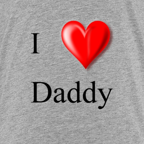 I Love Daddy - Kids' Premium T-Shirt