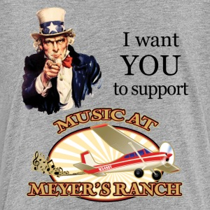I Want You, Uncle Sam - Music at Meyer's Ranch - Kids' Premium T-Shirt