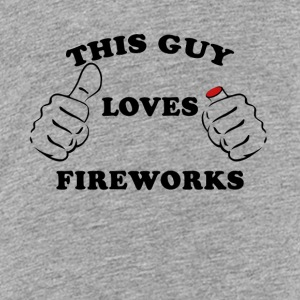 This Guy Loves Fireworks 4th Of July - Kids' Premium T-Shirt
