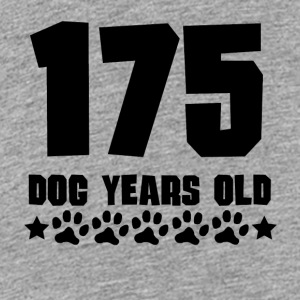 175 Dog Years Old Funny 25th Birthday - Kids' Premium T-Shirt