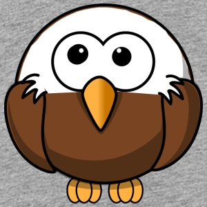 Funny bald eagle comic style - Kids' Premium T-Shirt