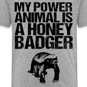 My Power Animal is a HB - Kids' Premium T-Shirt