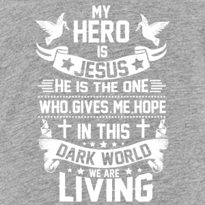 ***JESUS IS MY HERO*** - Kids' Premium T-Shirt