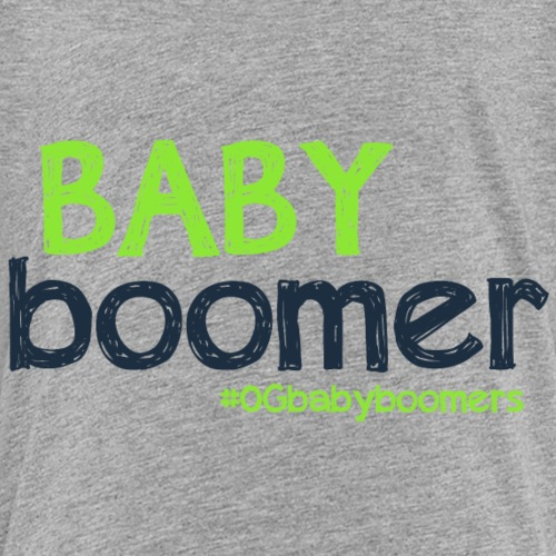 Baby Boomer OG Graphic - Kids' Premium T-Shirt