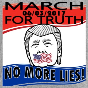 March For Truth - 6-3-2017- No More Lies - Kids' Premium T-Shirt