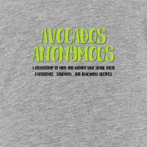 Avocados Anonymous - Kids' Premium T-Shirt