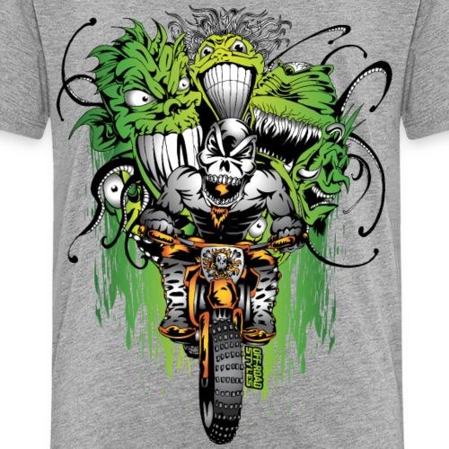 Motocross Ghouls - Kids' Premium T-Shirt