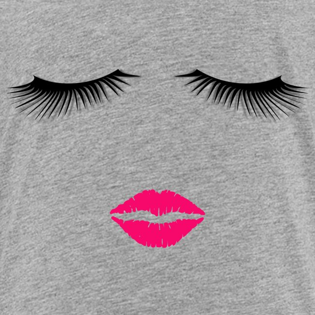 Lipstick and Eyelashes