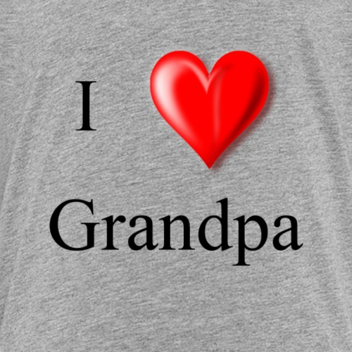 I love Grandpa - Kids' Premium T-Shirt