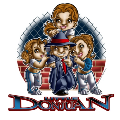 Lil Don Juan 1 by RollinLow - Kids' Premium T-Shirt