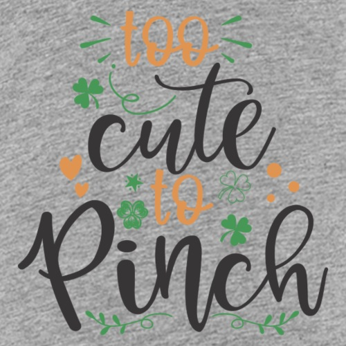 too cute to pinch - Kids' Premium T-Shirt