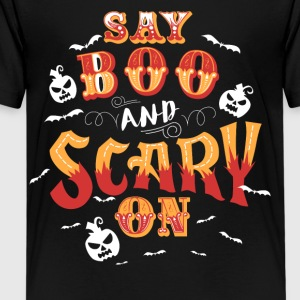 Scary On Halloween T-shirts - Kids' Premium T-Shirt