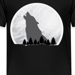Moonlight Wolf - Kids' Premium T-Shirt