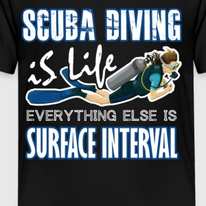SCUBA DIVING IS LIFE TEE SHIRT - Kids' Premium T-Shirt