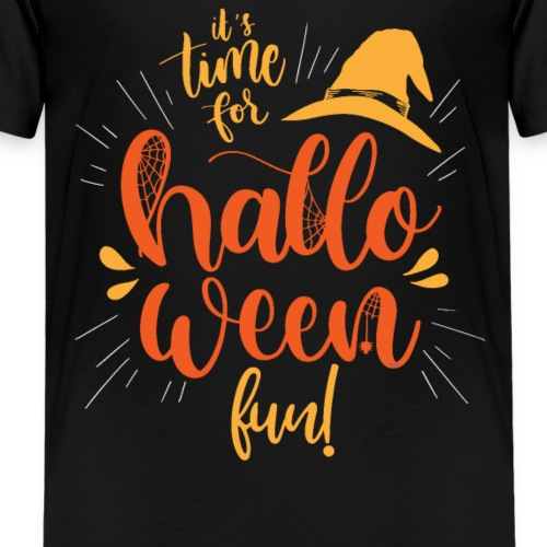 It's time for Halloween Fun! Lettering Novelty Tee - Kids' Premium T-Shirt