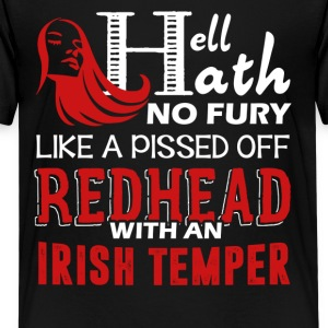 Pissed Off Redhead Shirt - Kids' Premium T-Shirt