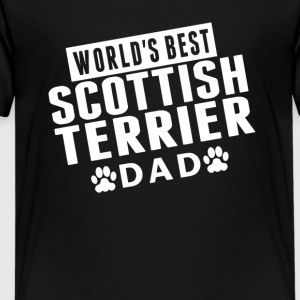 World's Best Scottish Terrier Dad - Kids' Premium T-Shirt