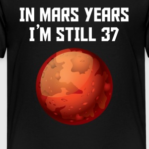 In Mars Years I'm Still 37 70th Birthday - Kids' Premium T-Shirt