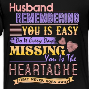 Husband Remembering Shirt - Kids' Premium T-Shirt