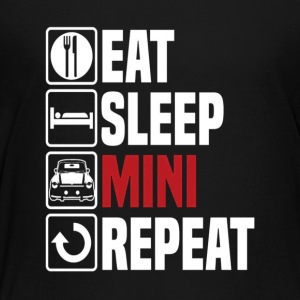 Eat Sleep Mini Funny - Kids' Premium T-Shirt